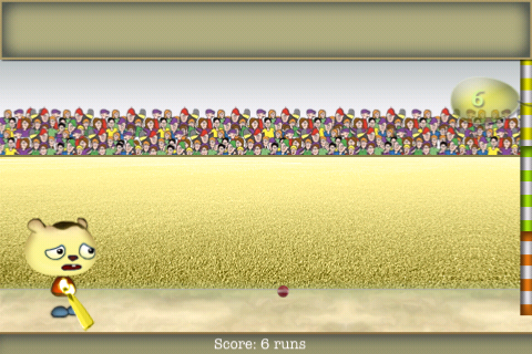 Screenshot cartoon cricket